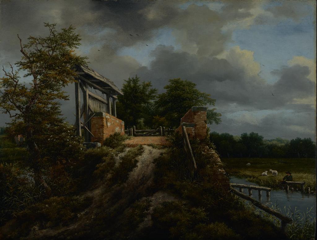 Bridge with a Sluice (Getty Museum)