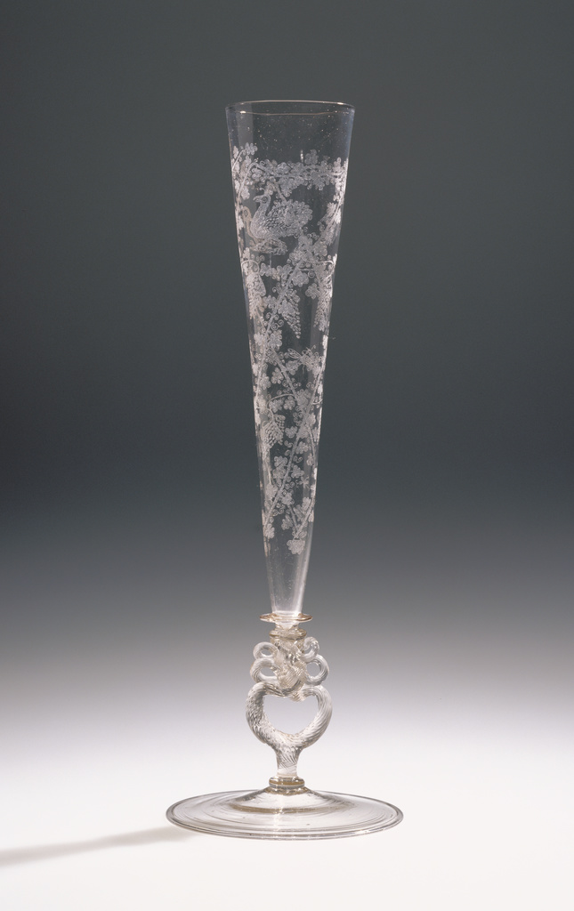 Flute Glass Getty Museum