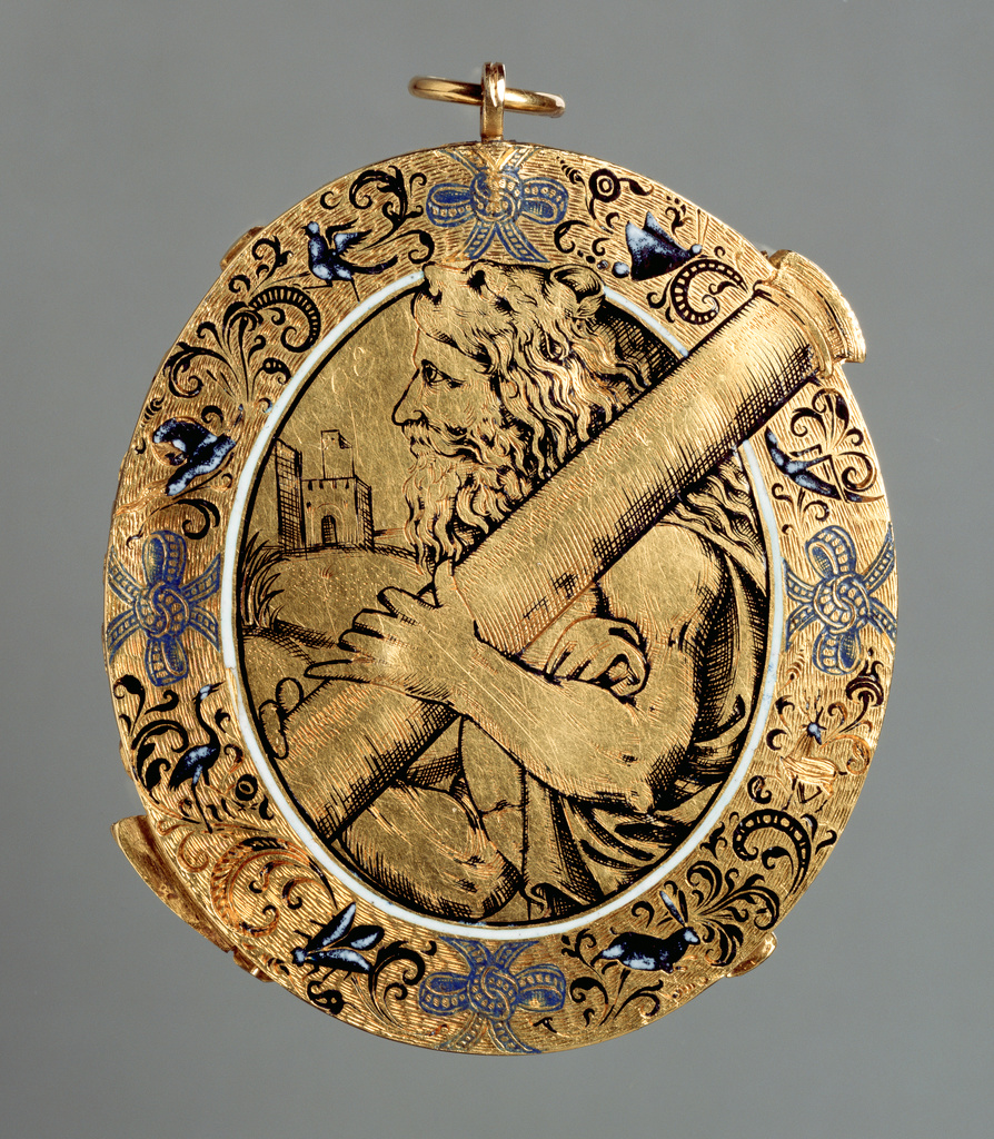 Italian Gold Chain >> Hercules Pendant (Getty Museum)