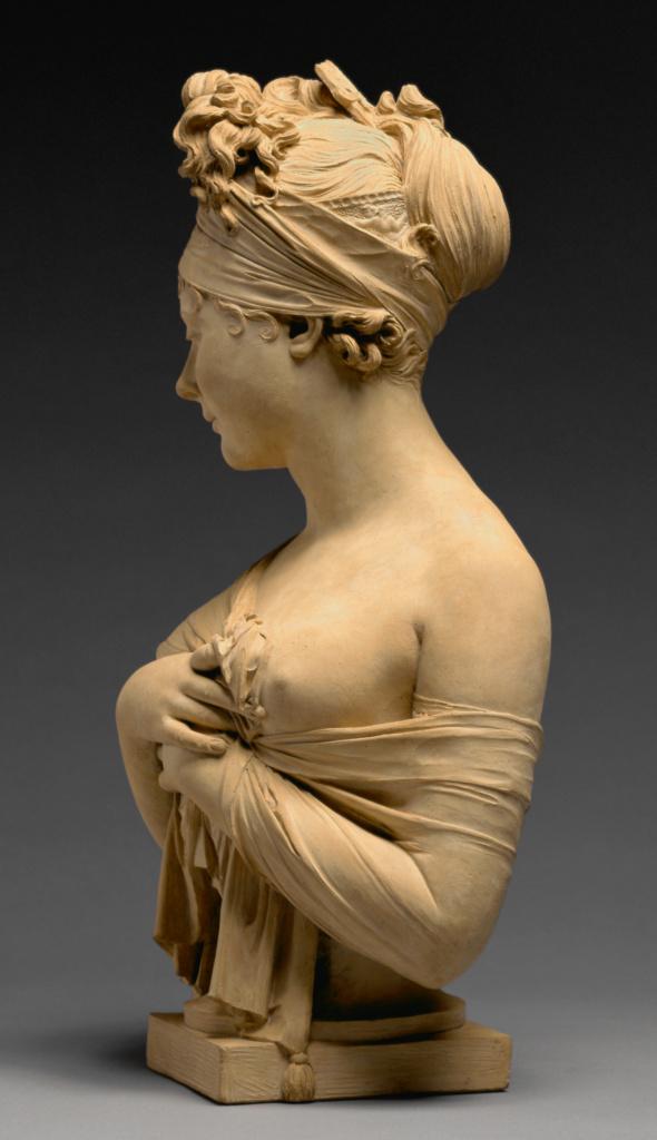 Bust Of Juliette R 233 Camier 1777 1849 Getty Museum