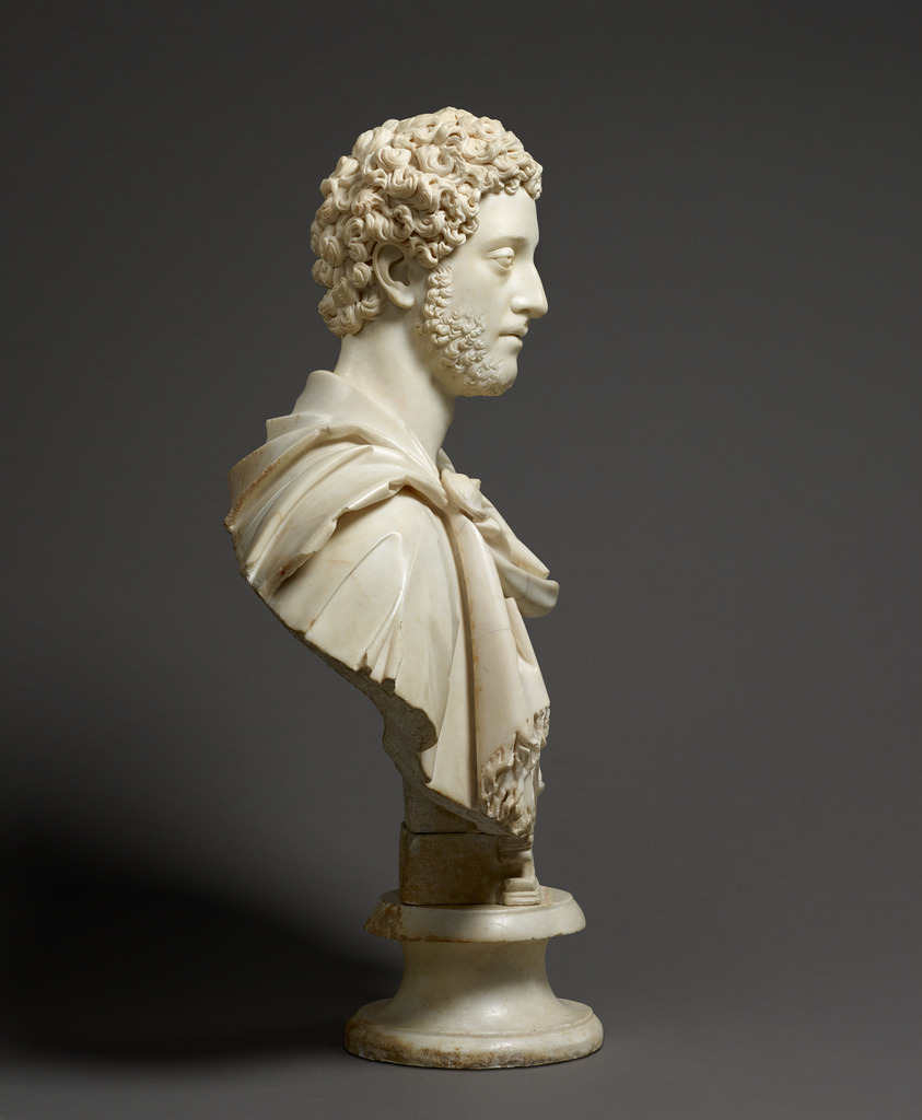 Bust of Emperor Commodus (Getty Museum)