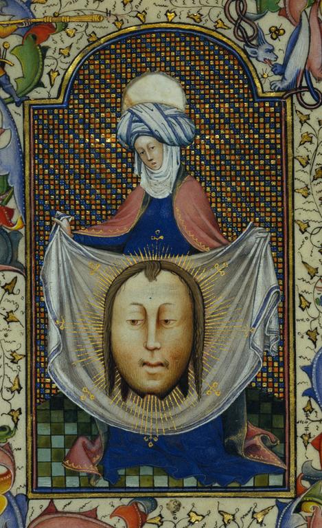 Saint Veronica Displaying the Sudarium (Getty Museum)