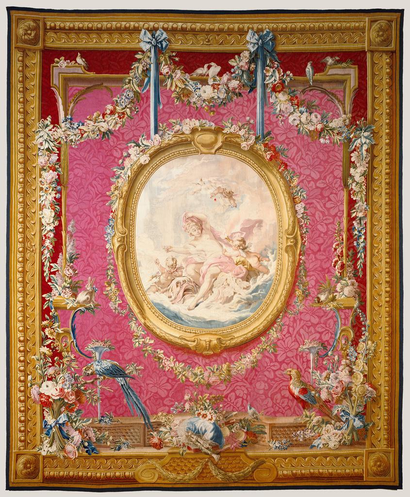 Tapestry V 233 Nus Sortant Des Eaux From Les Tentures De
