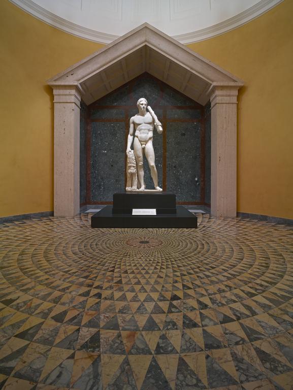 Statue Of Hercules Lansdowne Herakles Getty Museum