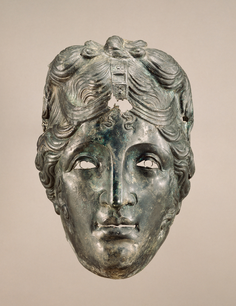 Face Mask from Parade Helmet (Getty Museum)