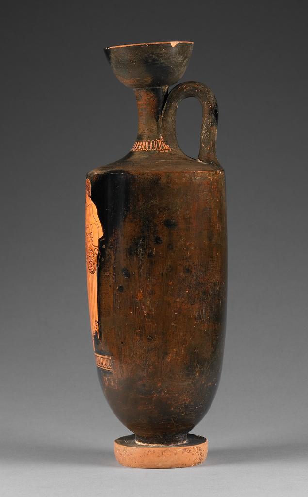 Attic Red-Figure Lekythos (Getty Museum)