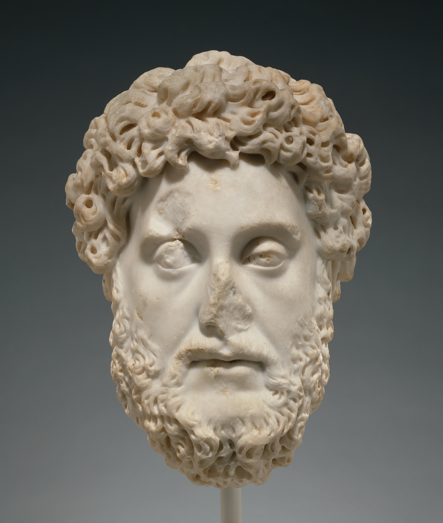 Portrait Head of Commodus (Getty Museum)