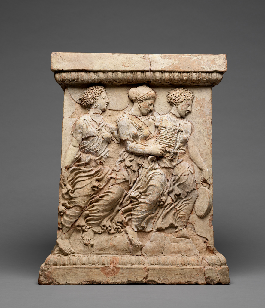 Altar With The Myth Of Adonis Getty Museum