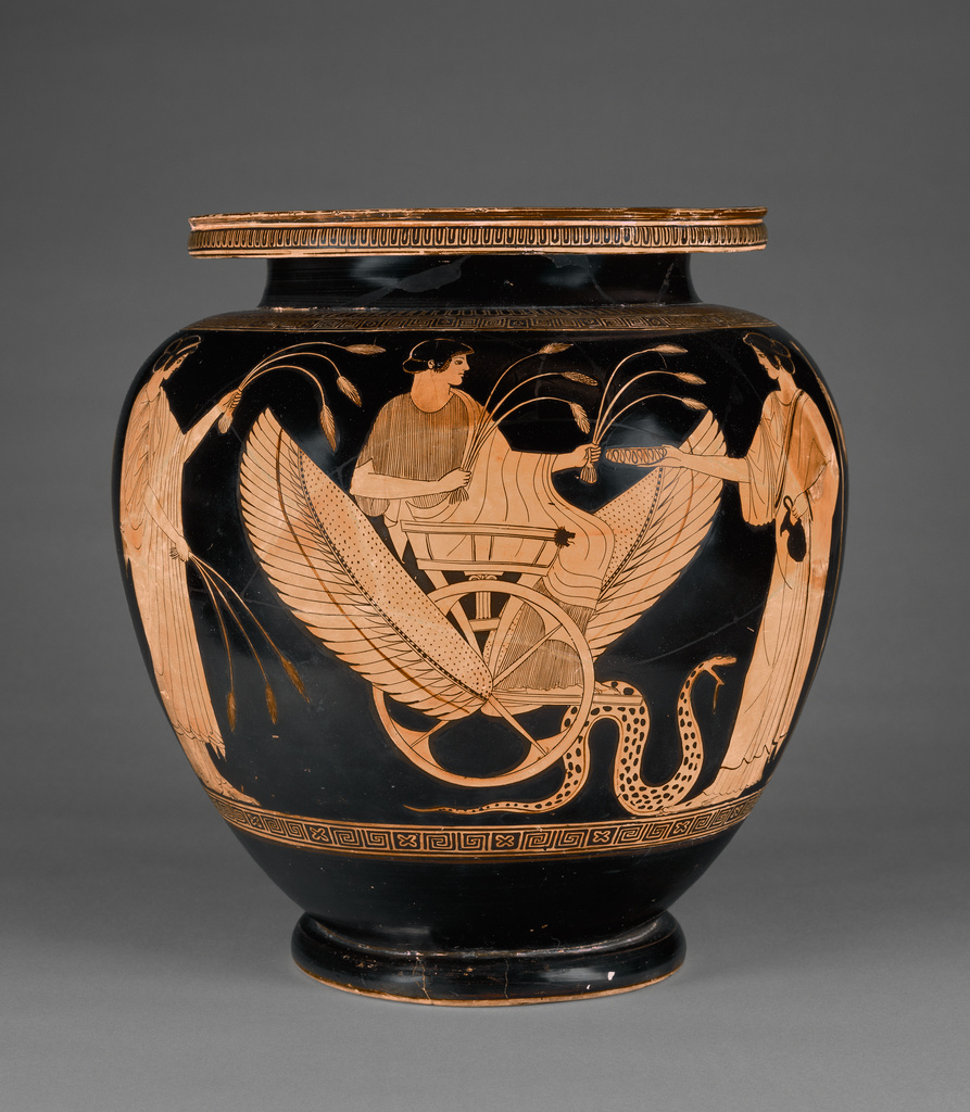 Attic Red-Figure Footed Dinos (Getty Museum)