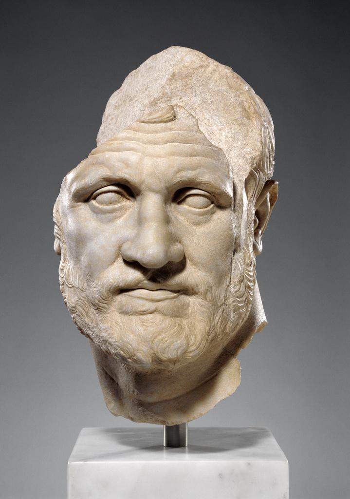 Portrait Of A Bearded Man Getty Museum