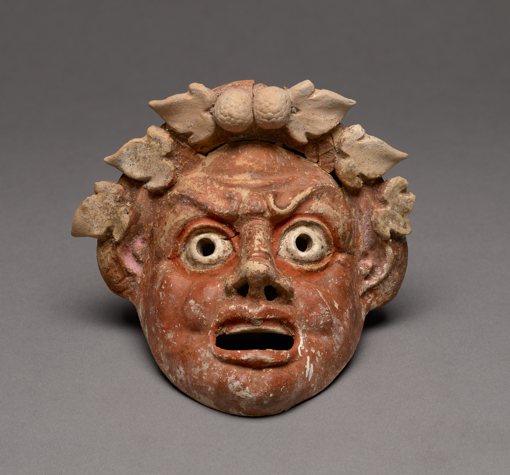 Mask Of A Satyr Getty Museum