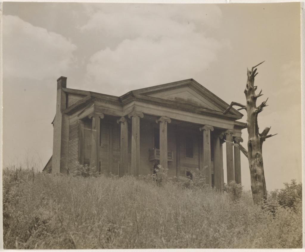 ruin rising gaunt faulkner country abandoned greek revival
