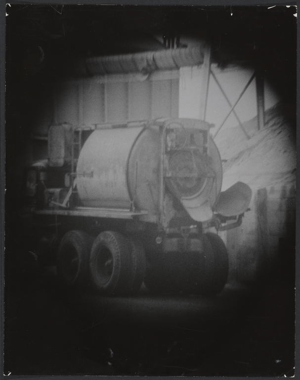 Cement mixer]  (Getty Museum)