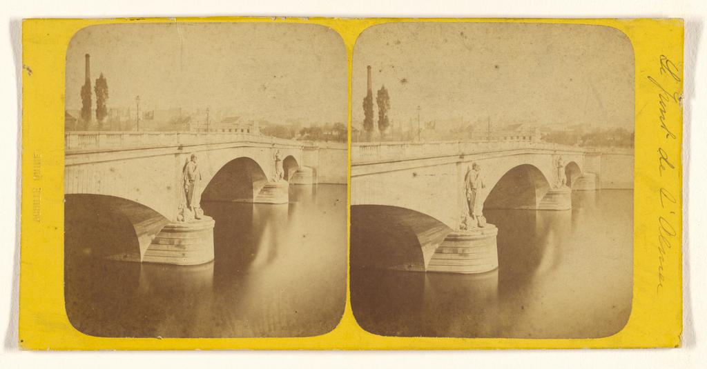 Le Pont De L Alma Paris France Getty Museum