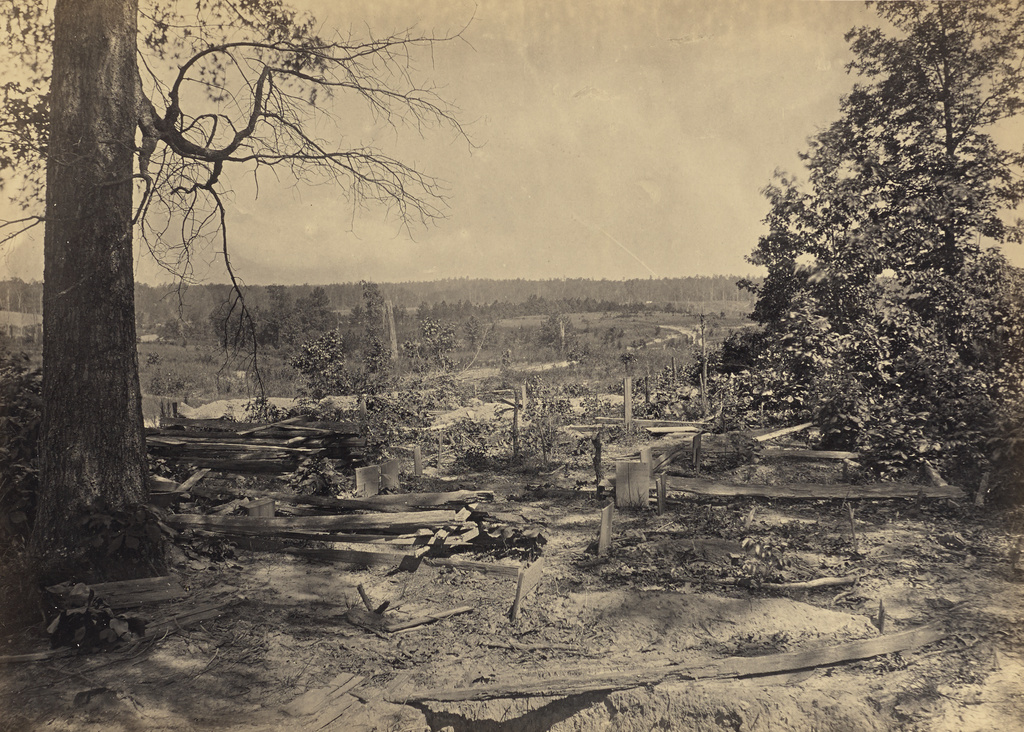 The Battle Field of Peach Tree Creek, Georgia (Getty Museum)