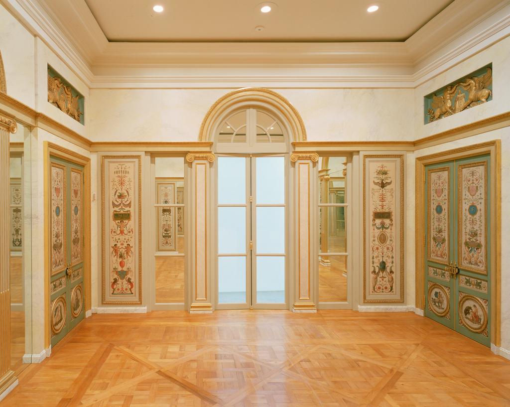 Paneled Room Salon De Compagnie Getty Museum