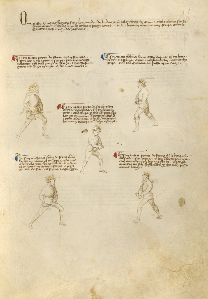 Combat with Dagger (Getty Museum)