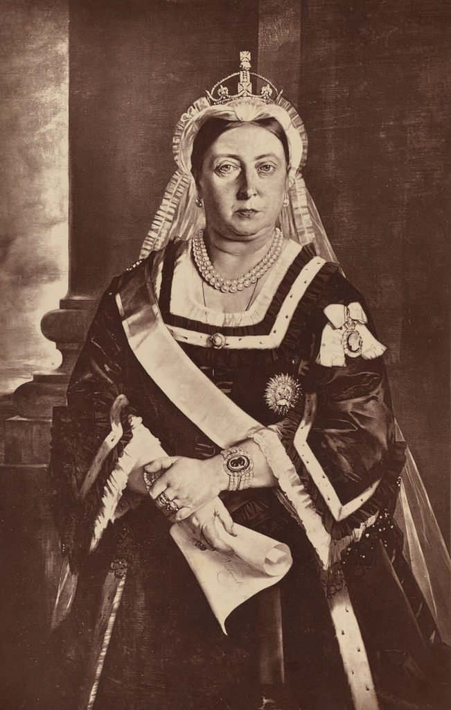 her majesty queen victoria empress of india getty museum