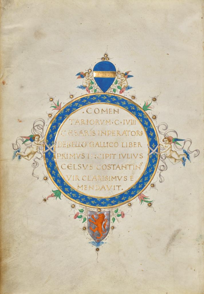 Connect The Colors >> Bellum Gallicum; Bellum Civile; Bellum Alexrinum; Bellum Africanum; Bellum Hispaniense (Getty ...