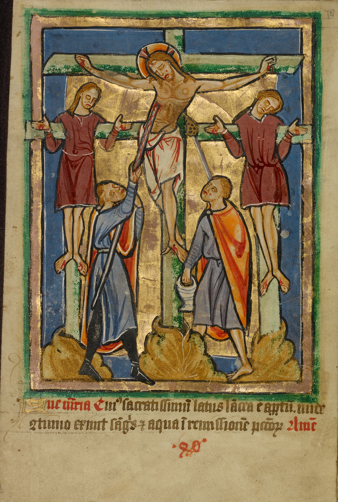 Crucifixion and the Piercing of the Side (Getty Museum)