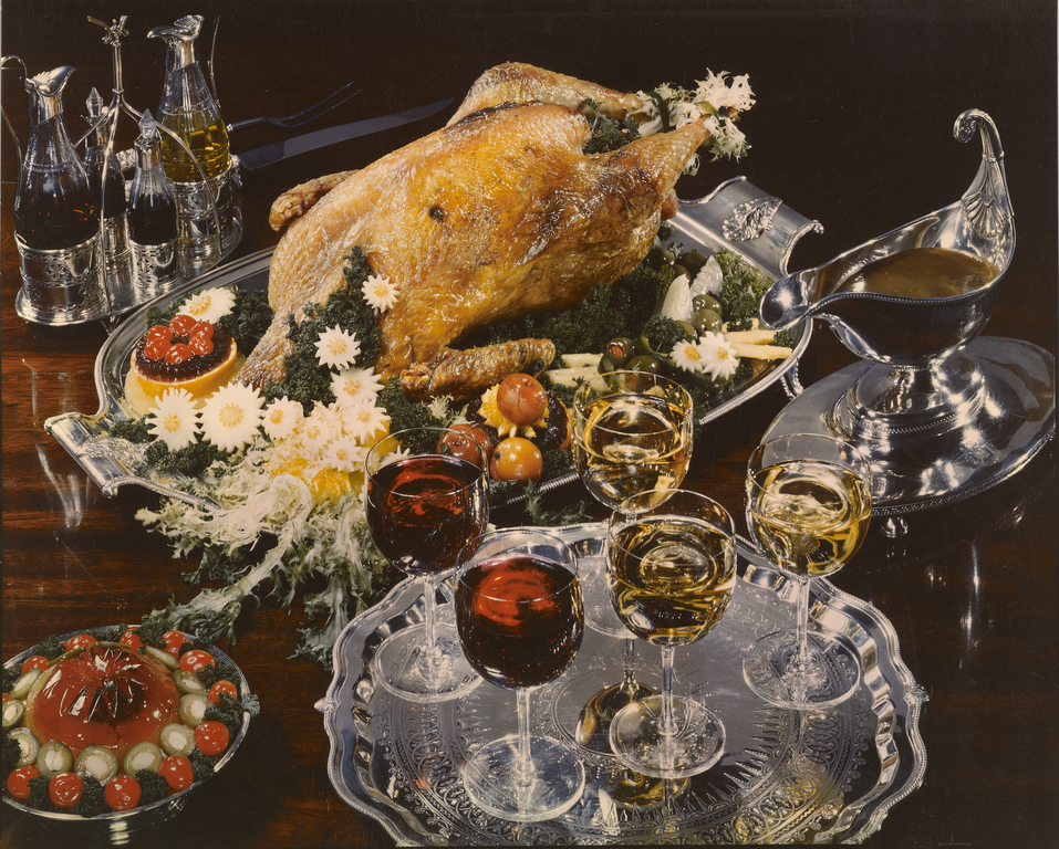 The Dinner Table Turkey Wine And Silver Getty Museum