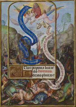 Lazarus's Soul Carried to Abraham / Master of James IV of Scotland