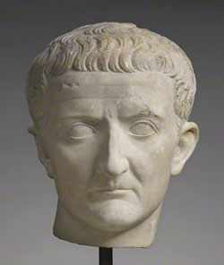 Head of Tiberius