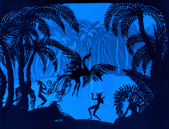 Image result for The Adventures of Prince Achmed (1926)