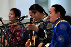 Tuvan throat singers Chirgilchin performing at a past Getty Center concert