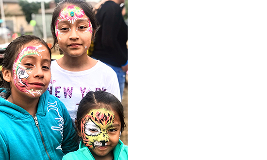 Creative Faces Animal Face Painting