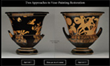 2 Approaches to Vase Painting Restoration
