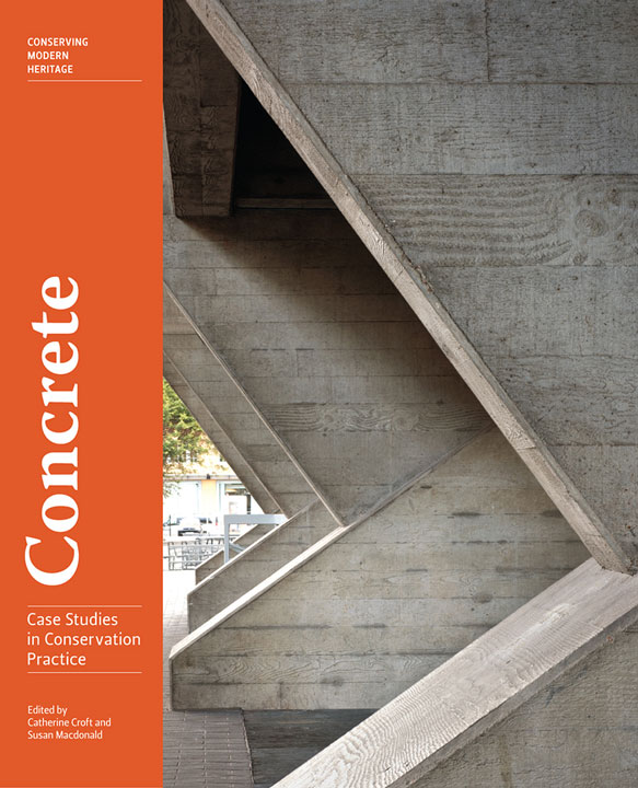 Concrete book cover