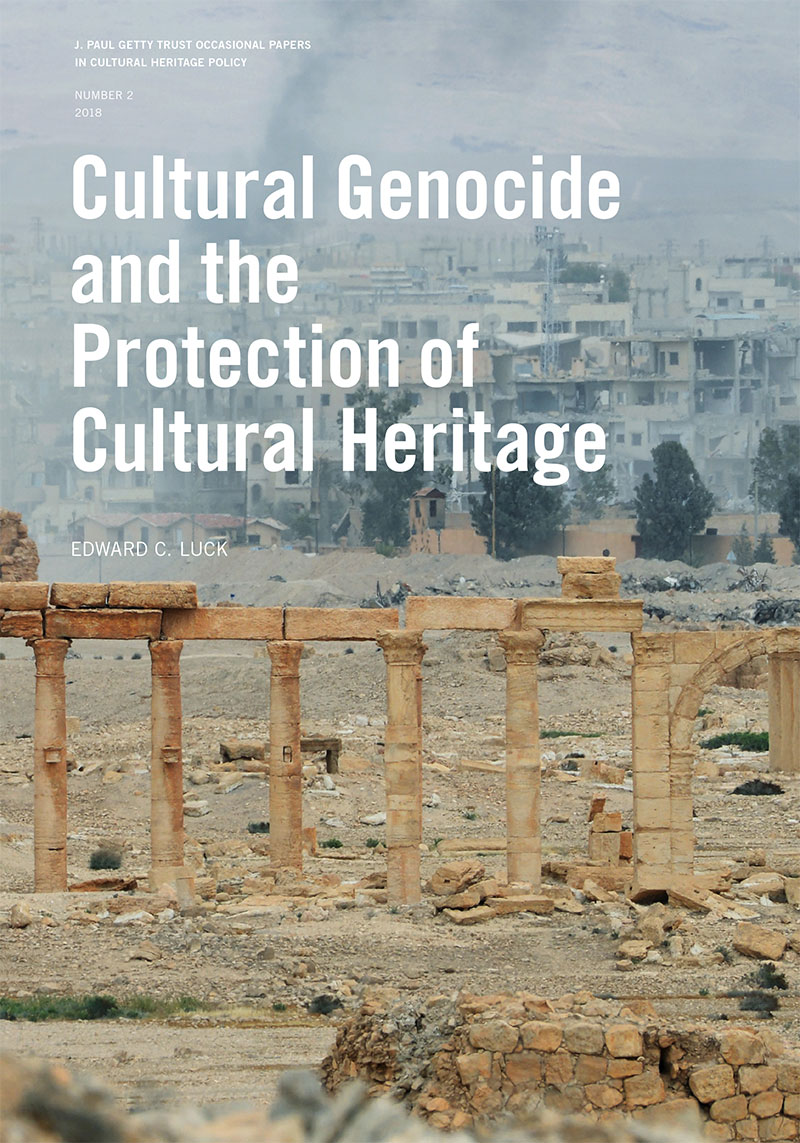 Cover of Cultural Genocide and the Protection of Cultural Heritage