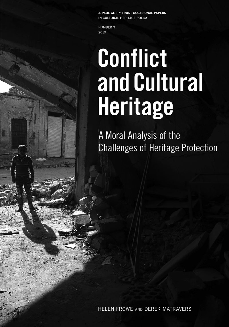 Cover of Conflict and Cultural Heritage