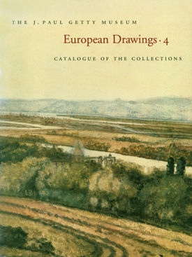 European Drawings 4  Catalogue of the Collections