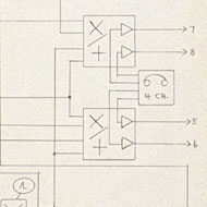Tudor / Electronic circuitry diagram for Dialects