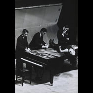 Unknown / David Tudor, John Cage, Yoko Ono, and unidentified artist performing in Japan