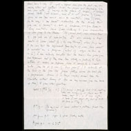 Cage / Letter to David Tudor about Music of Changes