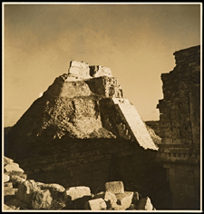 Pyramid of the Magician, Uxmal / Sulzer