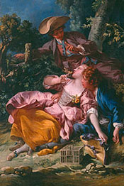 The Bird Catchers / François Boucher