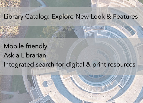 Library Catalog: New Look & Features