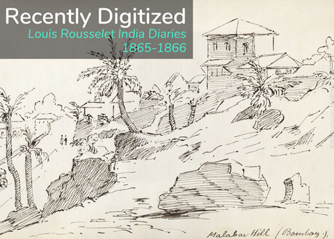 Two diaries kept by Louis Rousselet record a key period during the author's five-year sojourn in India.