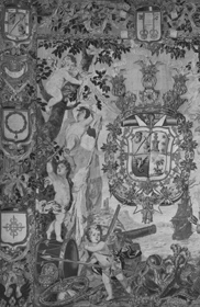 Flemish tapestry woven by the workshop of Jacques van de Borcht