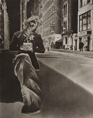 Teske/ Model with Potted Plant, New York City