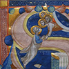 Initial S: The Ascension of Saint John the Evangelist into Heaven / Bonaguida