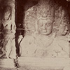 Tipped-in photograph of Siva Mahadeva, Elephanta / unknown