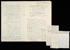 Manuscript pages / Pevsner papers