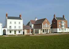 View of Poundbury / Peddle