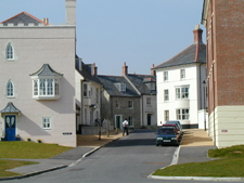 Street view of Poundbury / Peddle