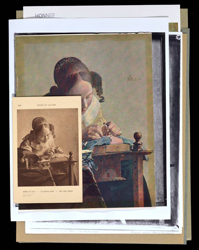Photographs of Reproductions of Johannes Vermeer's